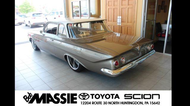 Bob Massie Toyota >> 1961 Chevrolet Biscayne RESTO MOD! NUT-N-BOLT RESTORATION ...