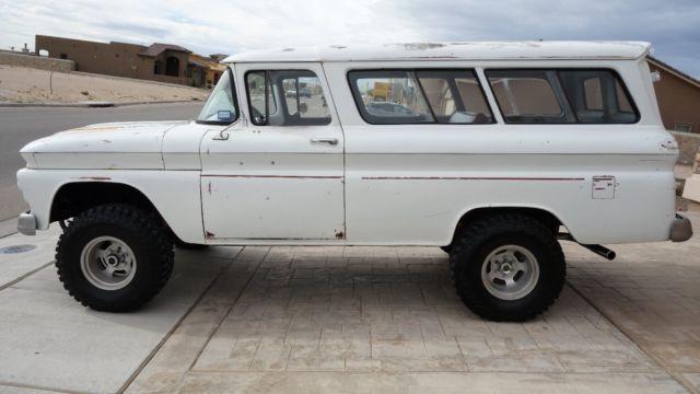 1961 Chevrolet Carryall Suburban 4x4 427 Big Block Like