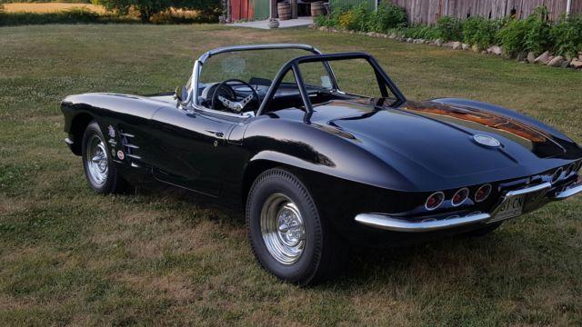 Used Cars For Sale Bay Area >> 1961 Chevrolet Corvette, Black on Black, 4 Speed, Posi ...