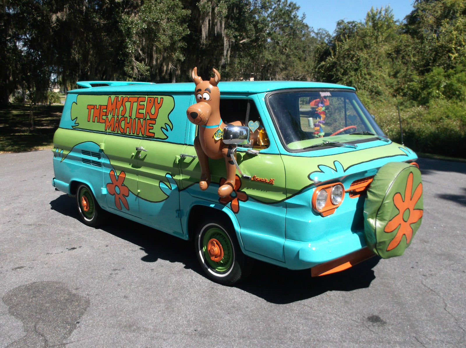 1961 chevy corvair 95 van scooby doo mystery machine rust - Race de scooby doo ...