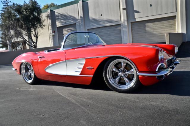 1961 Chevy Corvette Pro Touring Restomod Ls3 5 Speed One