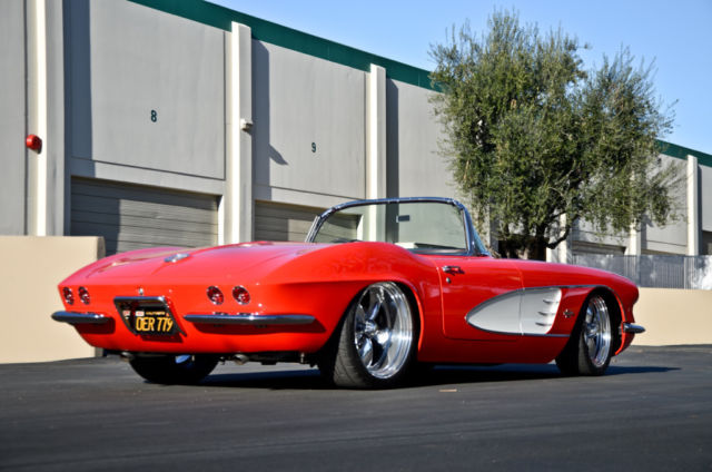 1961 Chevy Corvette Pro Touring restomod LS3 5 speed one off custom