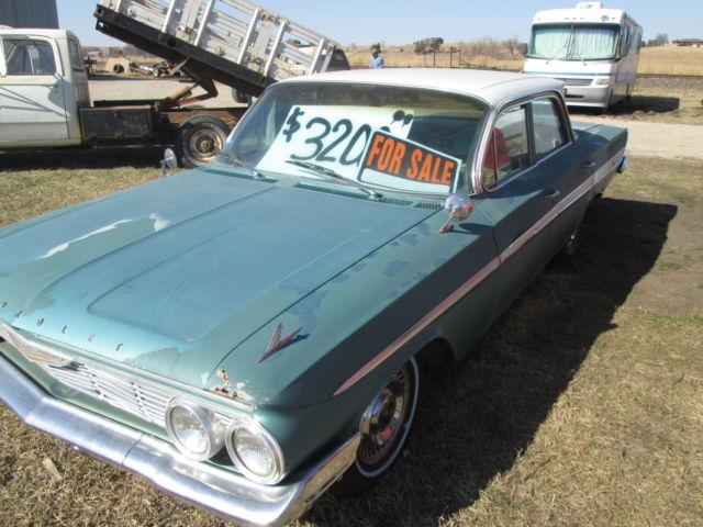 1961 Chevy Impala 4 Door Barn Find Classic Chevrolet