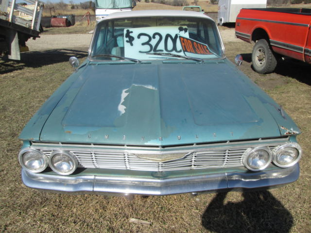 1961 Chevy Impala 4 Door Barn Find Classic Chevrolet