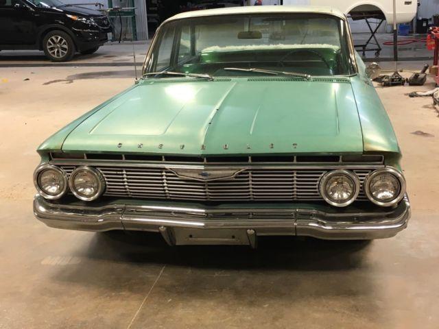 1961 Chevy Impala Belair 4 Door Classic Chevrolet Bel