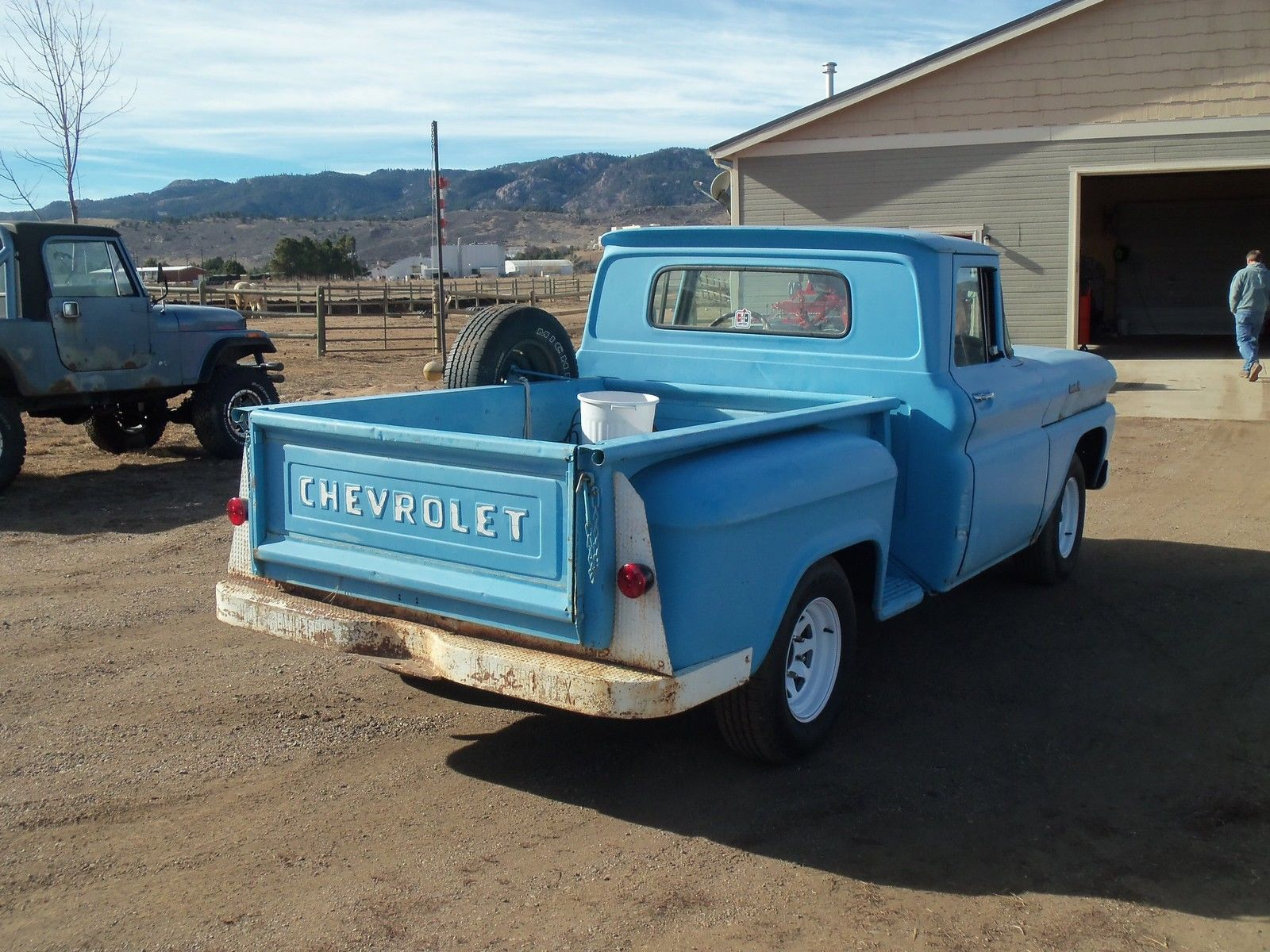 1961 Chevy Short Bed Classic Chevrolet C K Pickup 1500 For Sale Pick Up Prevnext