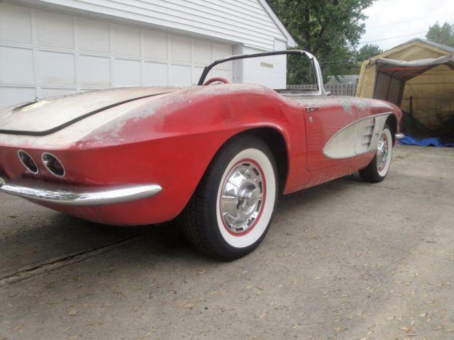1961 Corvette Project Classic Chevrolet Corvette 1961