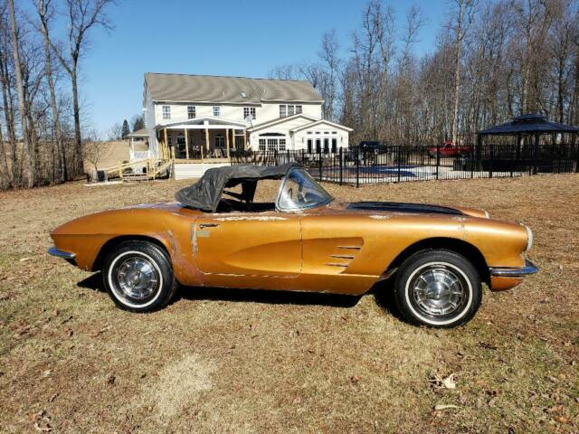 1961 Chevrolet Corvette Project Car For Sale: 1961 Corvette Project Car Will Ship Anywhere Worldwide
