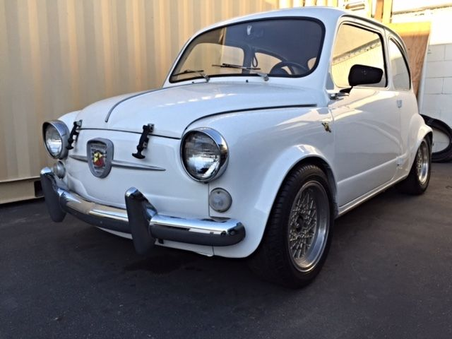 1961 Fiat 600 Abarth 850tc Classic Fiat Abarth 1961 For Sale