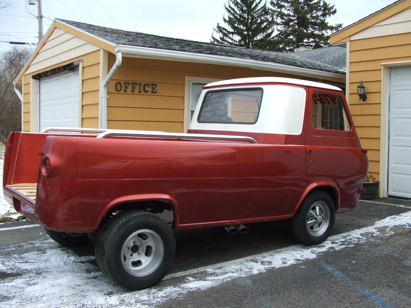 Ford Econoline Truck For Sale >> 1961 FORD ECONOLINE PICKUP SHOP TRUCK GASSER - Classic Ford Other Pickups 1961 for sale