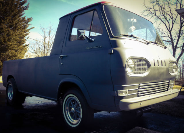 Bed Frame Parts >> 1961 Ford Econoline Pickup Truck Restored Custom NEW ...