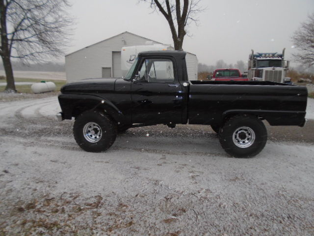 1961 Ford F 250 Highboy Shortbed 4 Wheel Drive 4 Speed