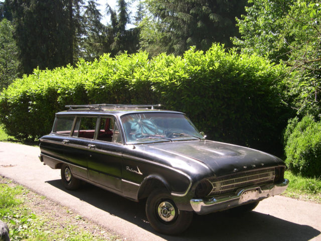 1961 ford falcon station wagon classic ford falcon 1961. Black Bedroom Furniture Sets. Home Design Ideas