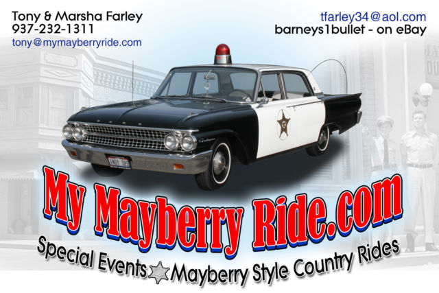 Mayberry Patrol Car For Sale