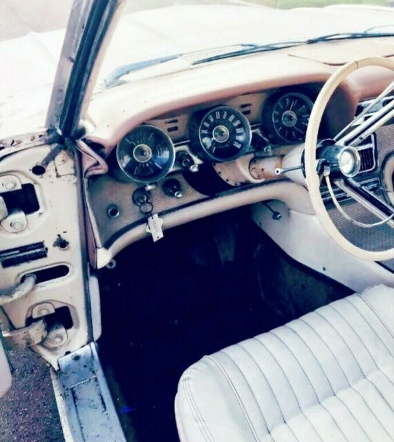 1961 Ford Thunderbird Numbers Matching Finish Restoring or ...