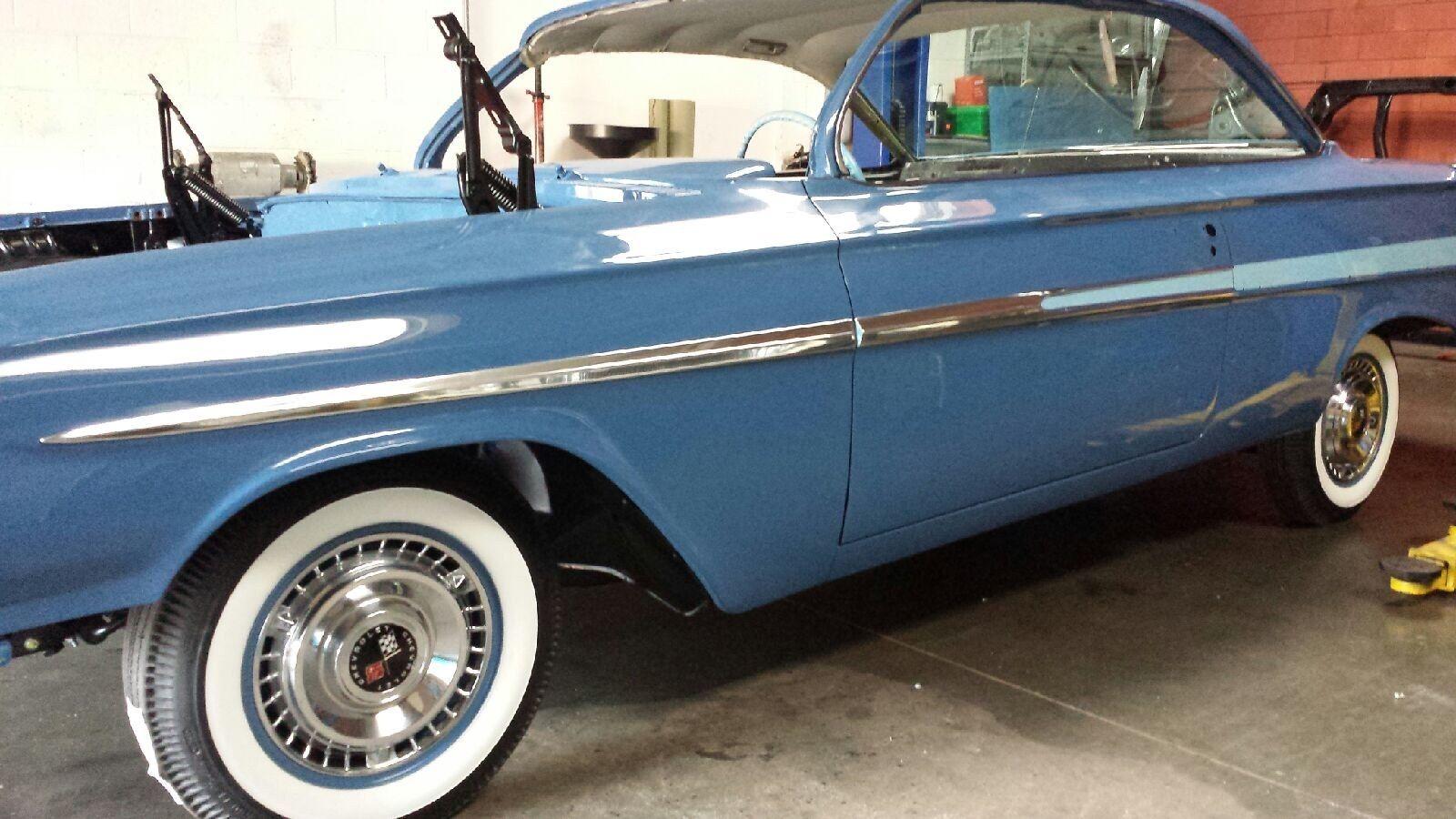 1961 Impala Bubbletop Frame Off Los Angeles Built No Reserve Chevrolet Bubble Top Sport Coupe
