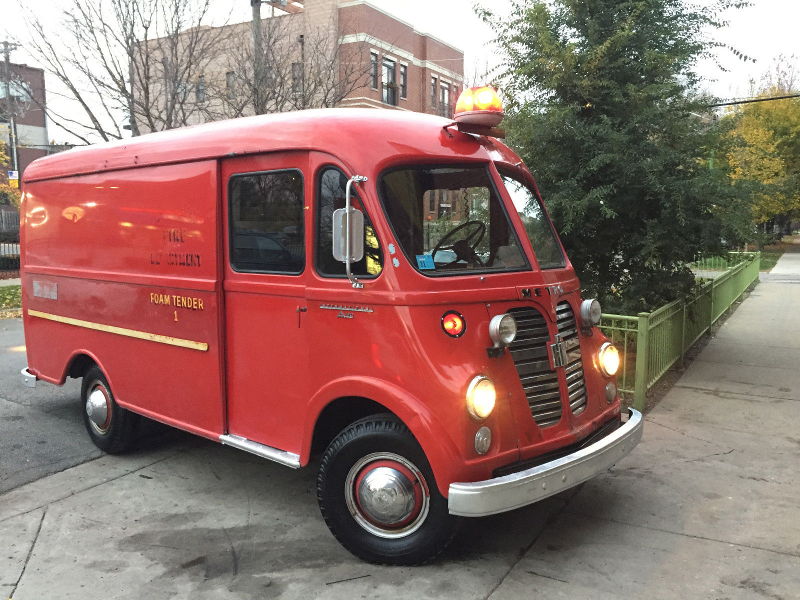 93ad525f49 1961 International Harvester Metro - A-120 Step Van - Fire Truck - Rare!