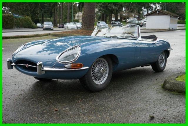 1961 jaguar e type roadster ots lhd car 400 flat floors concours restoration classic. Black Bedroom Furniture Sets. Home Design Ideas