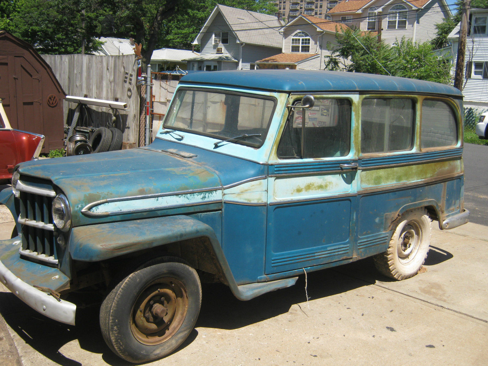 Staten Island Jeep >> 1961 jeep station wagon running project clean pa title,2 wheel drive,2 door,rod - Classic Jeep ...