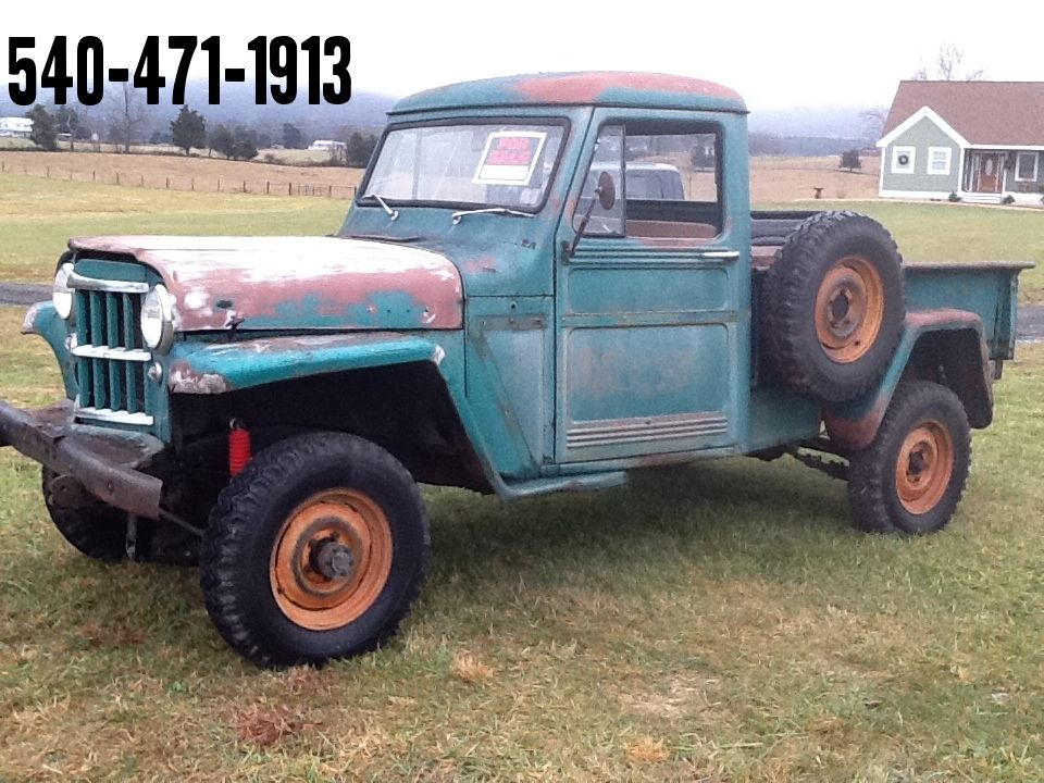 1961 jeep willys pickup classic jeep other 1961 for sale. Black Bedroom Furniture Sets. Home Design Ideas