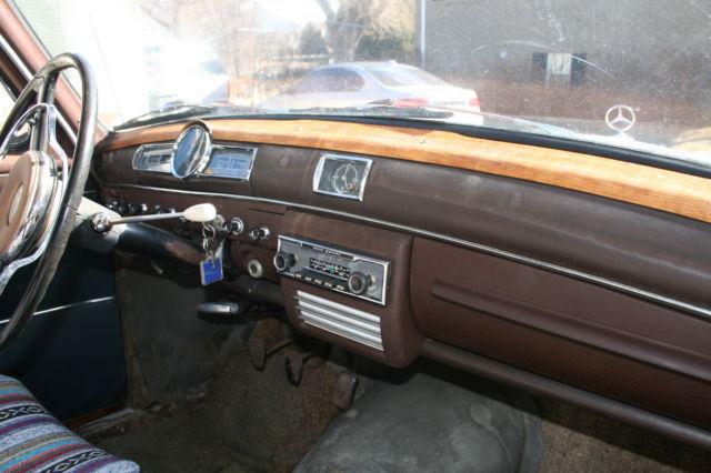 1961 Mercedes Benz 190, 190sl and ponton parts - Classic Mercedes