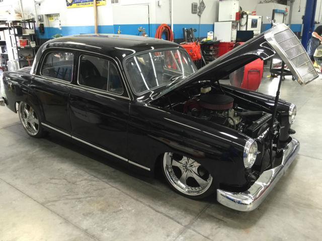 1961 mercedes benz 190 custom classic hotrod ratrod bagged 1961 mercedes benz 190 series prevnext sciox Images