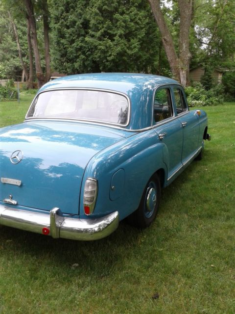 1961 mercedes benz 190 db ponton diesel classic mercedes benz 190 series 1961 for sale. Black Bedroom Furniture Sets. Home Design Ideas