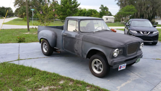 1961 Studebaker Champ Pickup Short Bed High Performance