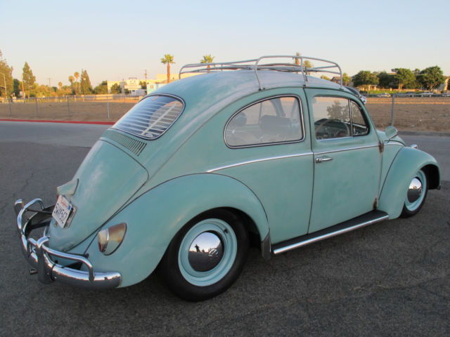 1961 Volkswagen Beetle RARE RIGHT SIDE DRIVE FROM ...