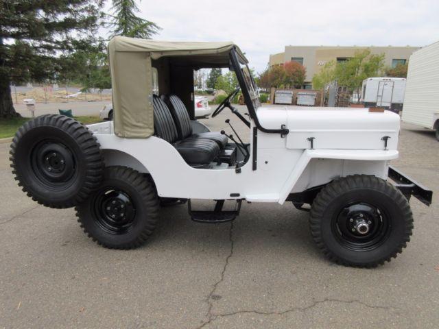 1961 Willys Cj3b Full Frame Off Restoration Jeep Classic