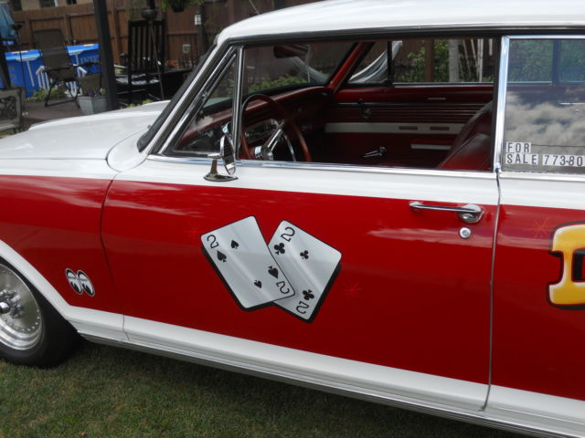 1962 62 Chevrolet Chevy II Nova Vintage Nostalgic Gasser