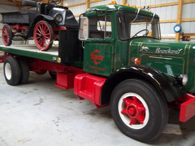 Dan Cummins Used Cars >> 1962 brockway mack diamond t rollback truck - Classic Other Makes 147 1962 for sale