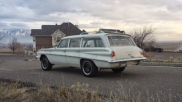 1962 Buick Skylark sport station wagon patina barn find ...