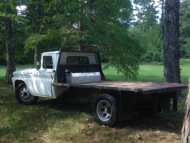 1962 C-40 C40 Chevy Truck Rat Rod Shop Truck Flatbed ...