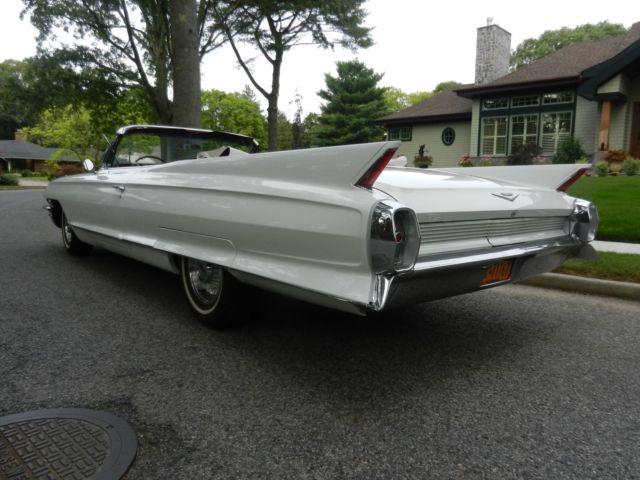 1962 Cadillac Convertible Series 62 Convertible Classic