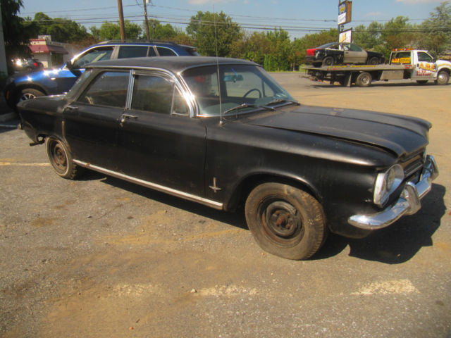 1962 CHEVROLET CORVAIR 4 DOOR SEDAN 900 MONZA PARTS CAR RESTORATION RAT ROD