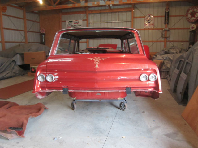 1962 Chevrolet Impala Belair Biscayne Custom Wagon Project With