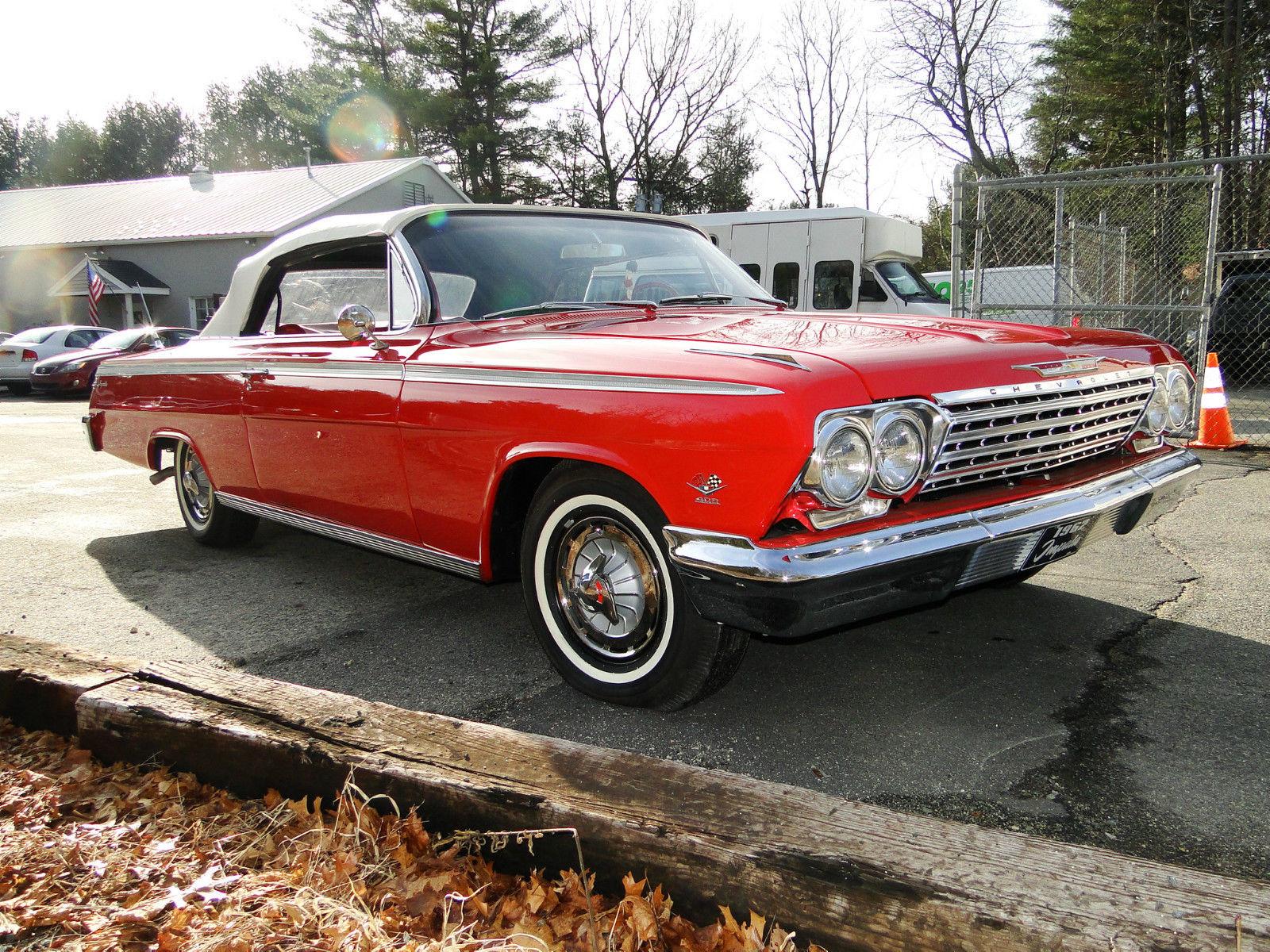 1962 chevrolet impala ss 2 door convertible classic chevrolet impala 1962 for sale. Black Bedroom Furniture Sets. Home Design Ideas