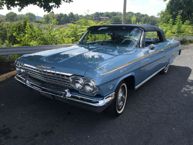 1962 Chevrolet Impala SS Convertible Conversion Restored ...