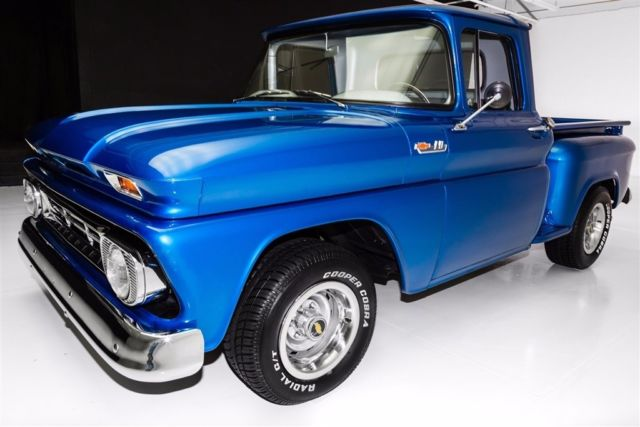 1962 Chevrolet Pickup C10 Stepside Short Box Manual