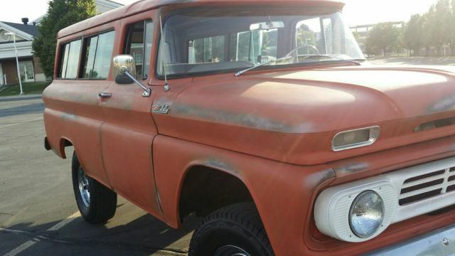 1962 Chevrolet Suburban C10 Chevy - Classic Chevrolet C-10 ...