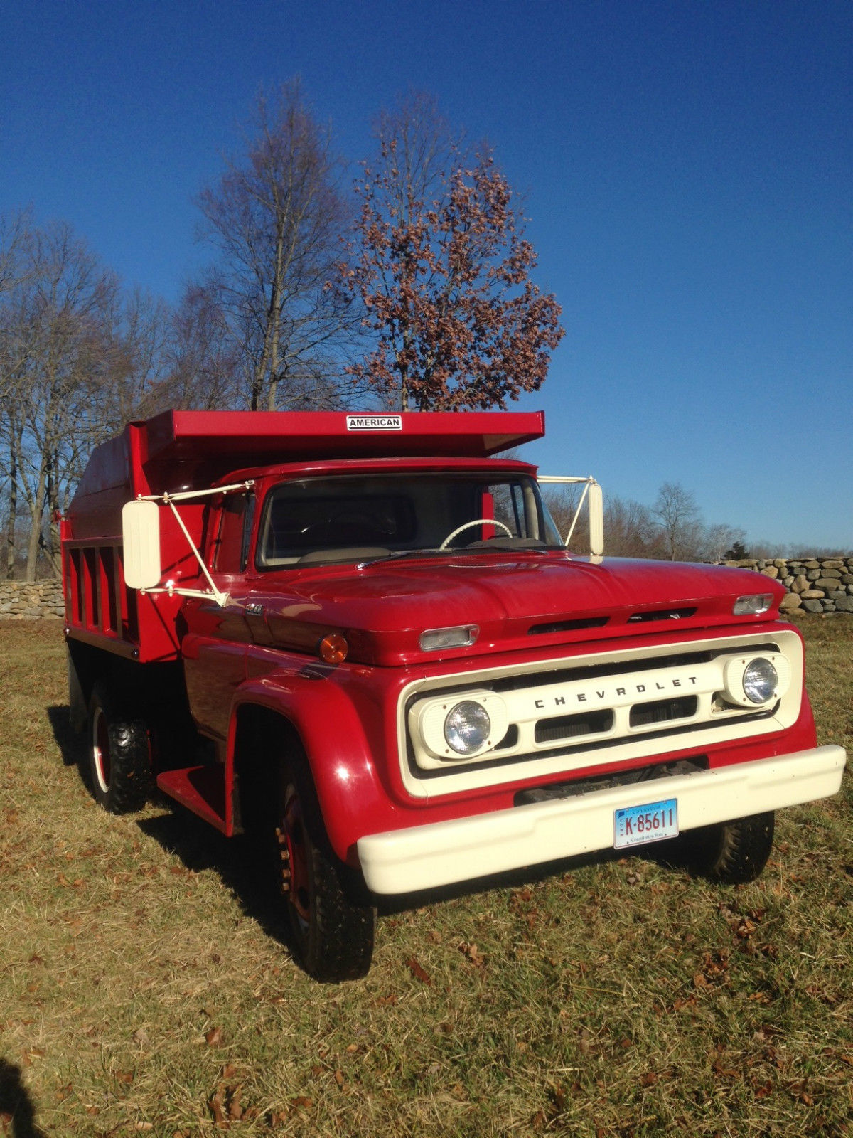 1962 Chevy Dump Truckexcellent Condition5329 Original Miles6 1954 Ford Truck Chevrolet Other C6