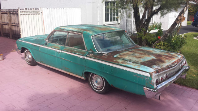 1962 Chevy Impala Project Car Or For Parts Classic Chevrolet