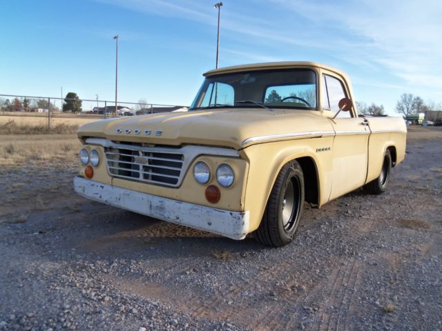1962 dodge d100 swb ifs patina shop truck sweptline. Black Bedroom Furniture Sets. Home Design Ideas