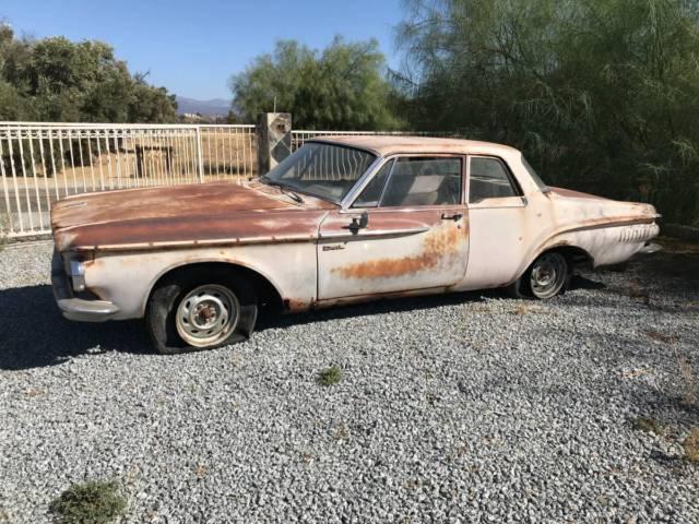 1962 Dodge Dart 330 2 Door Sedan Post Max Wedge Mopar 413