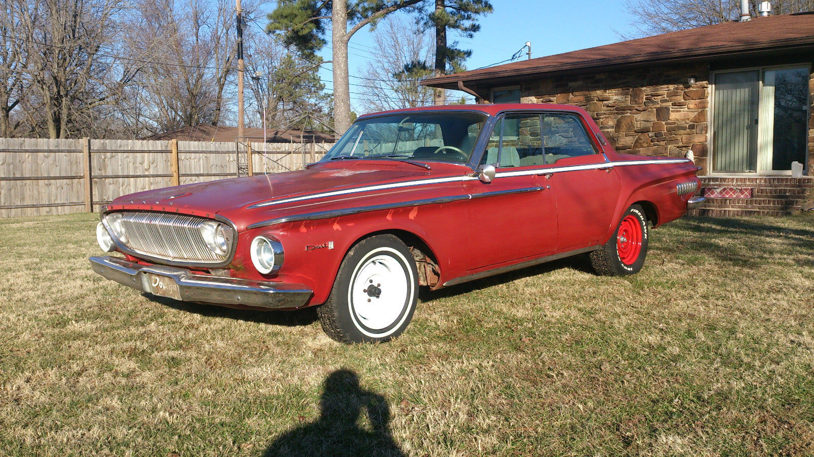 1962 Dodge Dart 440 V8 Push Button Auto 8 3 4 Rear Mopar Classic Dodge Dart 1962 For Sale