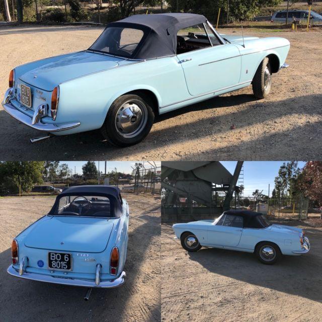 1962 Fiat Osca 1500 Pininifarina Convertible, Alfa Romeo