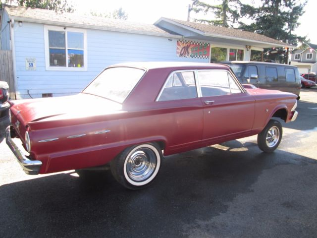 1962 Ford Fairlane 2 Door Gasser Straight Axle Race Car