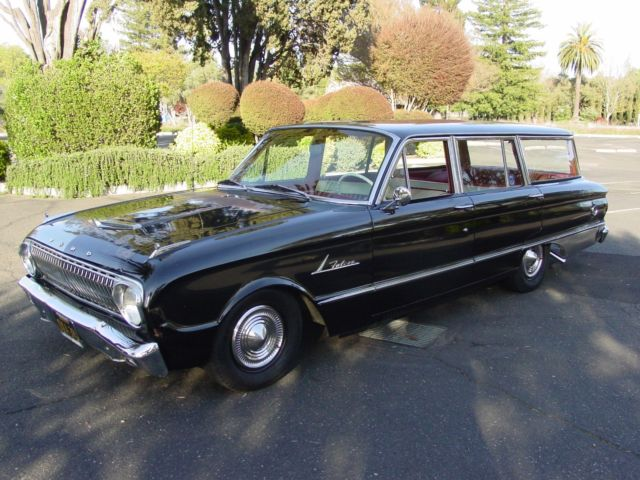 1962 ford falcon deluxe station wagon great patina perfect driver classic ford falcon 1962. Black Bedroom Furniture Sets. Home Design Ideas