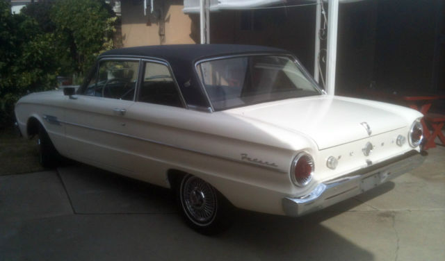 Ford Falcon Futura Door Coupe on Ford Falcon 6 Cylinder Engine